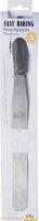 Streichpalette, Easy Baking, 22 cm, Dunkelgrau,...
