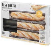 Birkmann, Easy Baking, Baguette-Blech 3-fach, 38,5 x 28 cm
