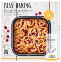Birkmann, Easy Baking, Springform Quadratisch, 24 x 24cm