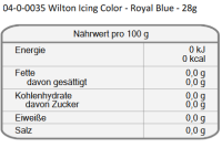 Wilton EU Icing Color - Royal Blue - 28g