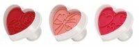 Tescoma Ausstecher Herzen mit Stempel