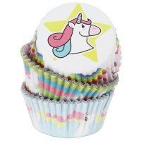 PME Foil Baking Cups Unicorn Pkg/60
