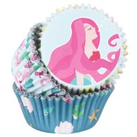PME Foil Baking Cups Mermaids Pkg/60