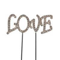 Cake Topper Diamond Love