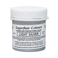 Sugarflair Pump Refill -Light Silver- 25g