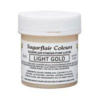 Sugarflair Pump Refill -Light Gold- 25g