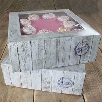 FunCakes Cake Box -Pure- 32 x 32cm Pkg/2