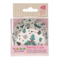 FunCakes Baking Cups Stechpalmen Pkg/48
