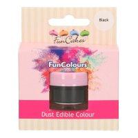 FunCakes Edible FunColours Dust - Black