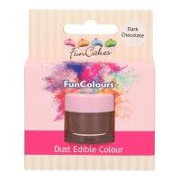 FunCakes Edible FunColours Dust - Dark Chocolate