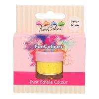 FunCakes Edible FunColours Dust - Lemon Yellow