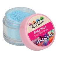 FunCakes Edible FunColours Dust - Baby Blue