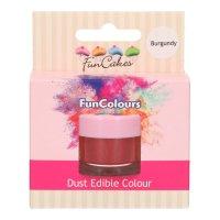 FunCakes Edible FunColours Dust - Burgundy