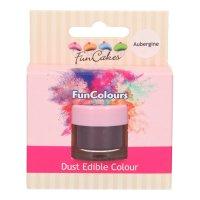 FunCakes Edible FunColours Dust - Aubergine