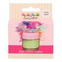 FunCakes Edible FunColours Dust - Citrus Green