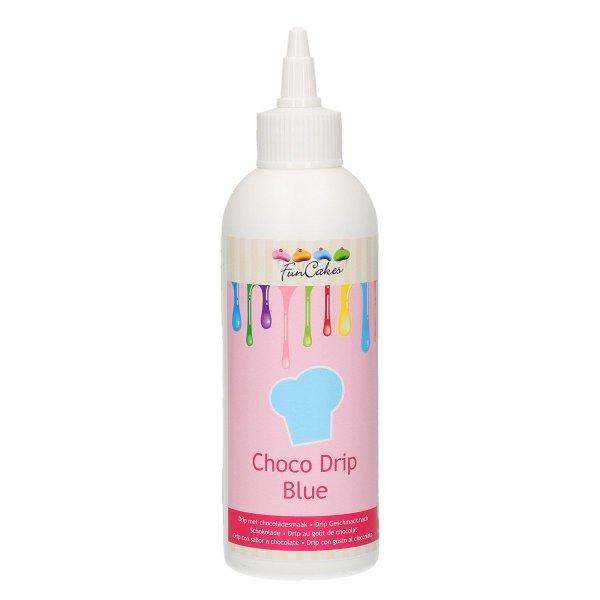 FunCakes Choco Drip Blau 180g