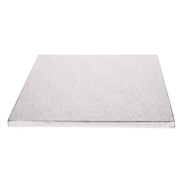 FunCakes Cake Drum Square 40,5 x 40,5 cm Silver