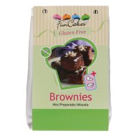 FunCakes Mix für Brownies, Glutenfrei 500g