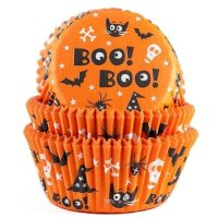 House of Marie Baking Cups Scary - pk/50