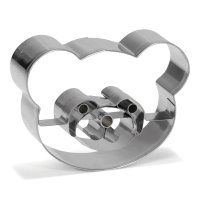 PatisseKeksausstecher Panda 8cm