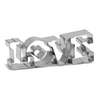 Patisse Keksausstecher LOVE 11cm